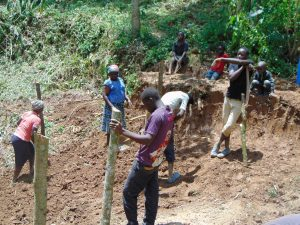 The Water Project:  Fencing Off The Area