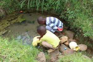 The Water Project:  Children Fetch Water