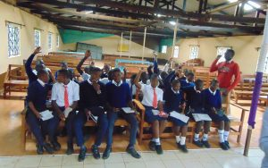 The Water Project:  Students Volunteer