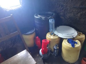 The Water Project:  Water Storage In Kitchen