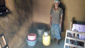 The Water Project:  Inside Community Members House