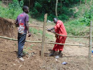 The Water Project:  Artisan Leads Fencing
