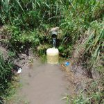 The Water Project: Bukhaywa Community, Shidero Spring -  Collection Area