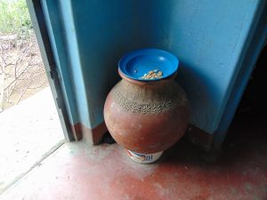 The Water Project:  Drinking Water Storage In Traditional Clay Pot