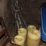 The Water Project: Kimaran Community, Kipsiro Spring -  Water Storage Containers