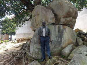 The Water Project:  Head Teacher Mr Silas Ominde