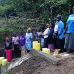 The Water Project: Eshikhugula Community, Shaban Opuka Spring -  Completed Spring