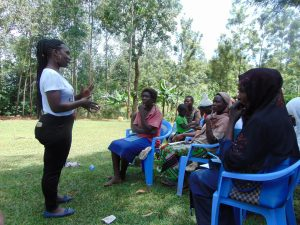 The Water Project:  Trainer Laura Alulu In Action