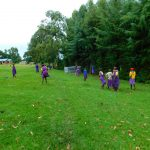 The Water Project: Kapkures Primary School -  Students On The Playground