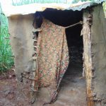 The Water Project: Namarambi Community, Iddi Spring -  Latrine