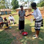 The Water Project: Shihingo Community, Inzuka Spring -  Handwashing Demonstration