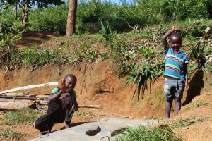 The Water Project:  New Sanitation Platform Beneficiaries