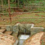 The Water Project: Mutao Community, Kenya Spring -  Kenya Spring Complete