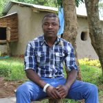The Water Project: Kalenda B Community, Lumbasi Spring -  Mr Elphas Lumbasi Spring Landowner