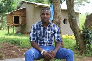 The Water Project:  Mr Elphas Lumbasi Spring Landowner