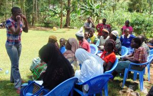 The Water Project:  Field Officer Jemmimah Leads Dental Hygiene Training
