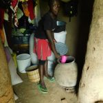 The Water Project: Emurumba Community, Makokha Spring -  Showing Clay Pot To Store And Cool Water
