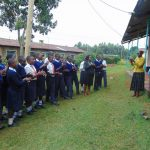 The Water Project: Ikumba Secondary School -  Handwashing Demonstration