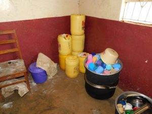 The Water Project:  Water Storage And Cups