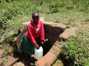The Water Project:  Fridah Fetches Water