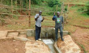 The Water Project:  Thumbs Up For Running Water