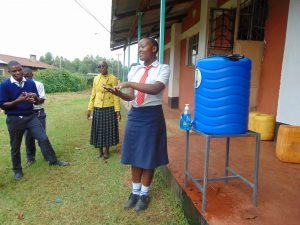 The Water Project:  Leading Handwashing Practice