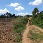 The Water Project: Mwichina Primary School -  Pathway From The Spring