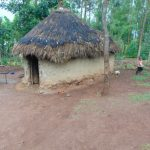 The Water Project: Namarambi Community, Iddi Spring -  Traditional Grass Thatched House