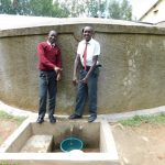 The Water Project: Bishop Makarios Secondary School -  Hosea Kimutai And Cyprian Kimeli