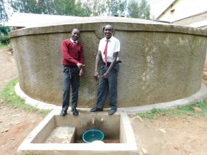 The Water Project:  Hosea Kimutai And Cyprian Kimeli