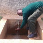 The Water Project: Mulwakhi Secondary School -  Flowing Water