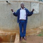 The Water Project: Injira Secondary School -  Health And Sanitation Teacher Mr Daniel Inziani