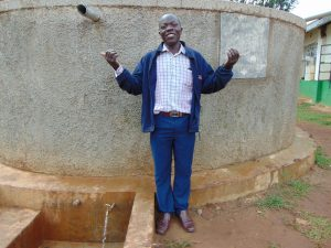 The Water Project:  Health And Sanitation Teacher Mr Daniel Inziani