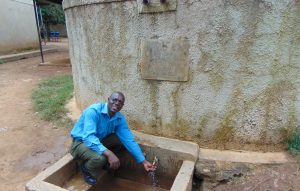 The Water Project:  David Mangweli