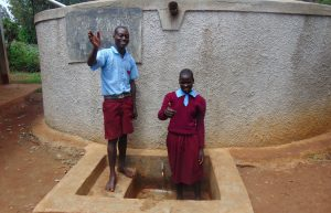 The Water Project:  Students Janet Makokha And Elius Kasim