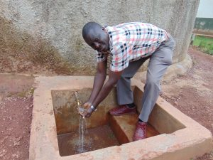 The Water Project:  Mr Daniel Muchesia