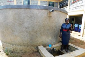 The Water Project:  School Principal Mildred Were Osore