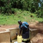 The Water Project: Malava Community, Ndevera Spring -  Janet Kiara