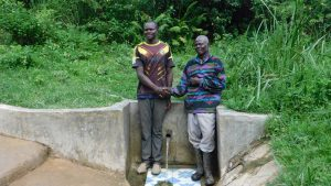 The Water Project:  William Okello Left And John Madara Right