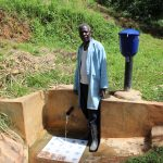 The Water Project: Jivovoli Community, Gideon Asonga Spring -  Mr Samuel Wangwa