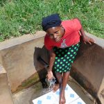 The Water Project: Mwituwa Community, Shikunyi Spring -  Margaret Wangare