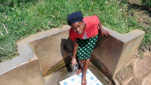 The Water Project:  Margaret Wangare