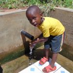 The Water Project: Mwituwa Community, Nanjira Spring -  Bravin Manyasa