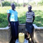 The Water Project: Ingavira Community, Laban Mwanzo Spring -  Ruth Shiundu With Rael