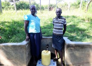 The Water Project:  Ruth Shiundu With Rael