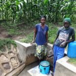 The Water Project: Masera Community, Salim Hassan Spring -  Beatrice Ngota With Likami