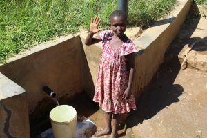 The Water Project:  Girl At Spring