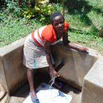 The Water Project: Nambatsa Community, Odera Spring -  Maria Alwanga