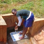 The Water Project: Lwangele Community, Machayo Spring -  Pamela Emere