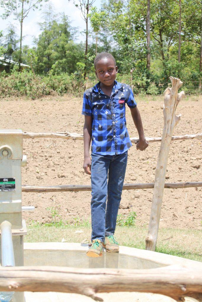 The Water Project : 2-kenya18287-brian-injendi